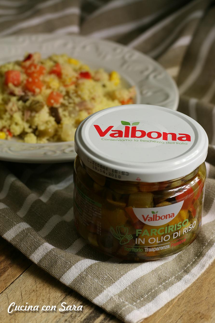 Ricetta cous cous freddo con tonno e verdure