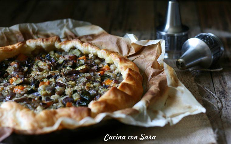 Torta salata con hummus di ceci archives cucina con sara - Cucina con sara ...