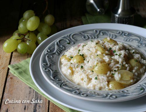 Ricetta risotto all'uva – cremoso e delicato