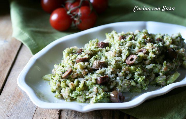 Mix di cereali con broccoli e olive nere – velocissimo!
