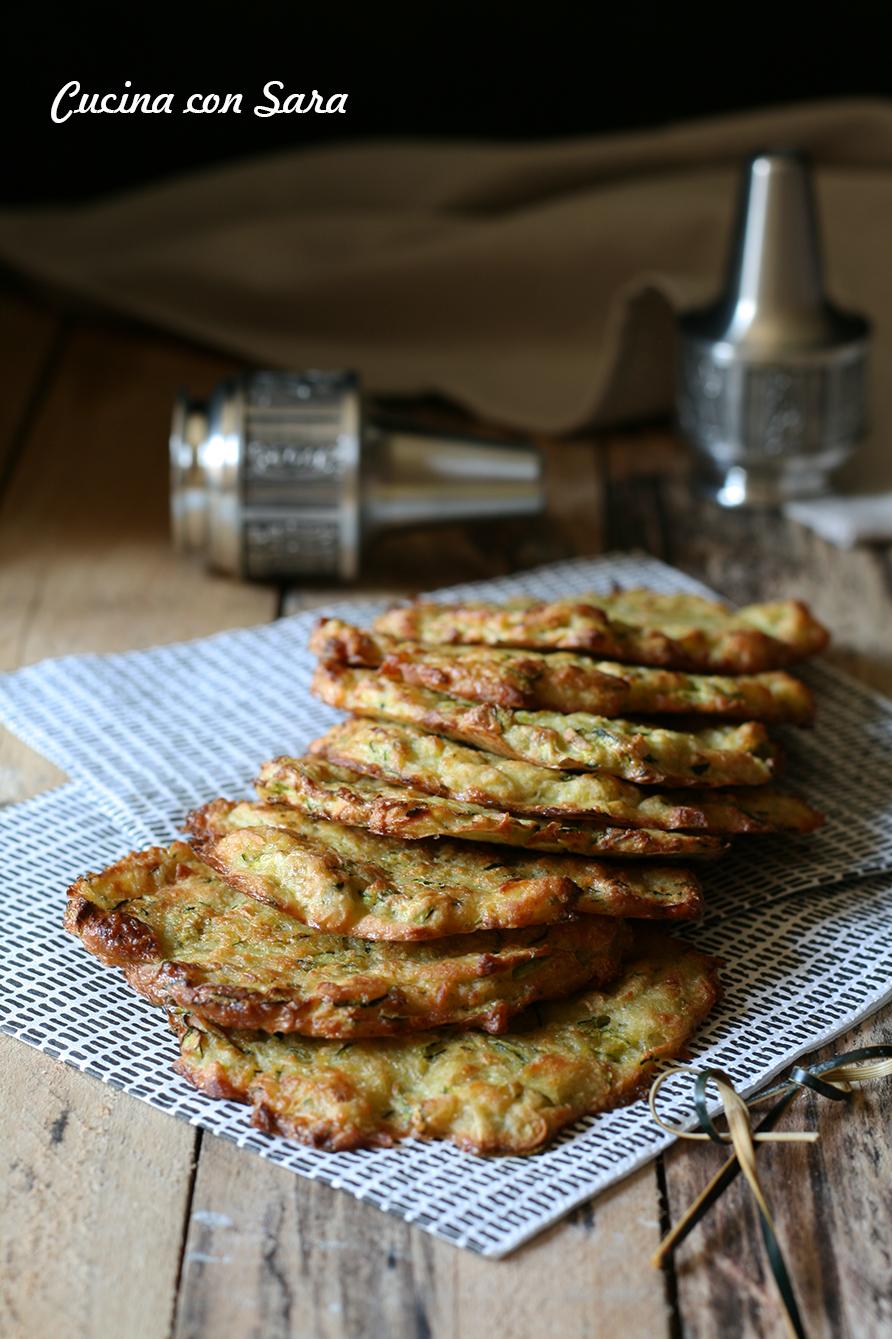 Frittelle patate e zucchine al forno - ricetta e video ricetta