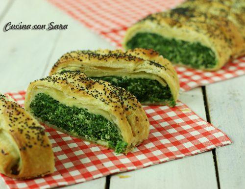 Ricetta strudel di sfoglia con ricotta e spinaci – velocissimo!