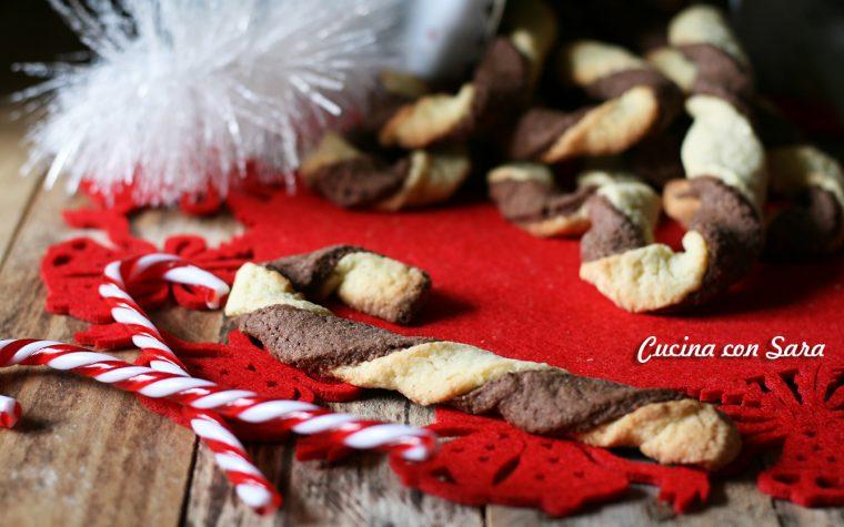 Candy cane di pasta frolla – ricetta natalizia irresistibile