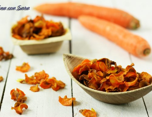 Chips di carota al forno – croccanti ed irresistibili come quelle fritte