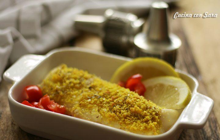 Merluzzo gratinato al limone – piatto pronto in 30 minuti