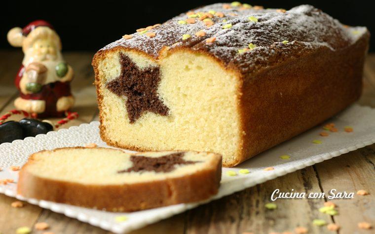 Ricetta plumcake natalizio – con stella a sorpresa nell'impasto