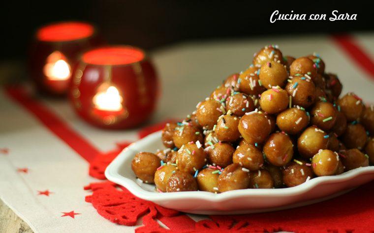 Ricetta struffoli – dolce natalizio napoletano, con video ricetta