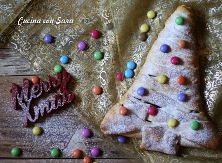 Albero di Natale nutella e corn flakes - con video ricetta