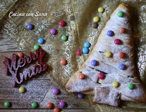 Albero di Natale nutella e corn flakes – con video ricetta