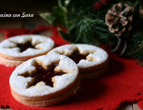 Ricetta biscotti natalizi alla confettura di melagrana