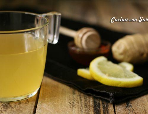 Tisana zenzero e limone contro i malanni di stagione