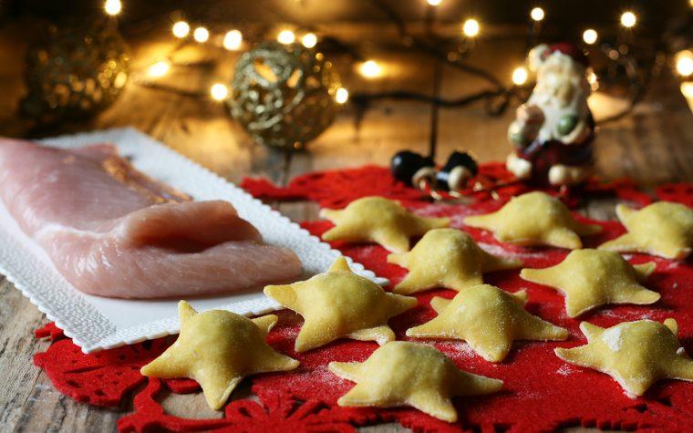 Ravioli tacchino e castagne – ricetta natalizia