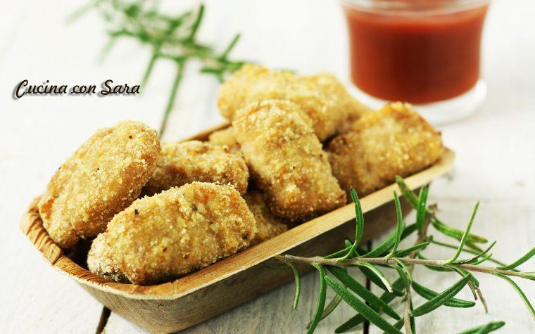 Ricetta pepite di pollo al forno – croccanti fuori e morbide dentro, senza uova
