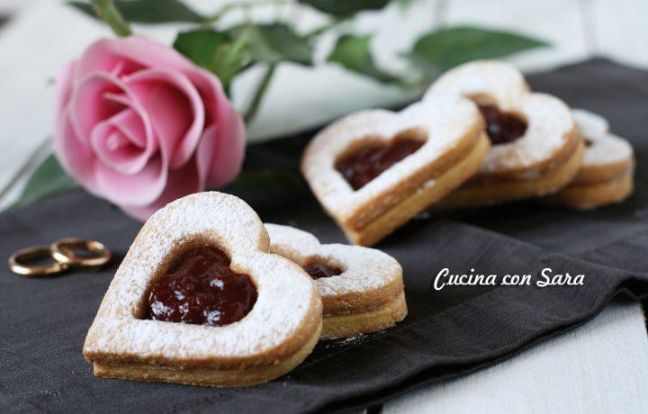 Biscotti San Valentino – romantici cuori di pasta frolla