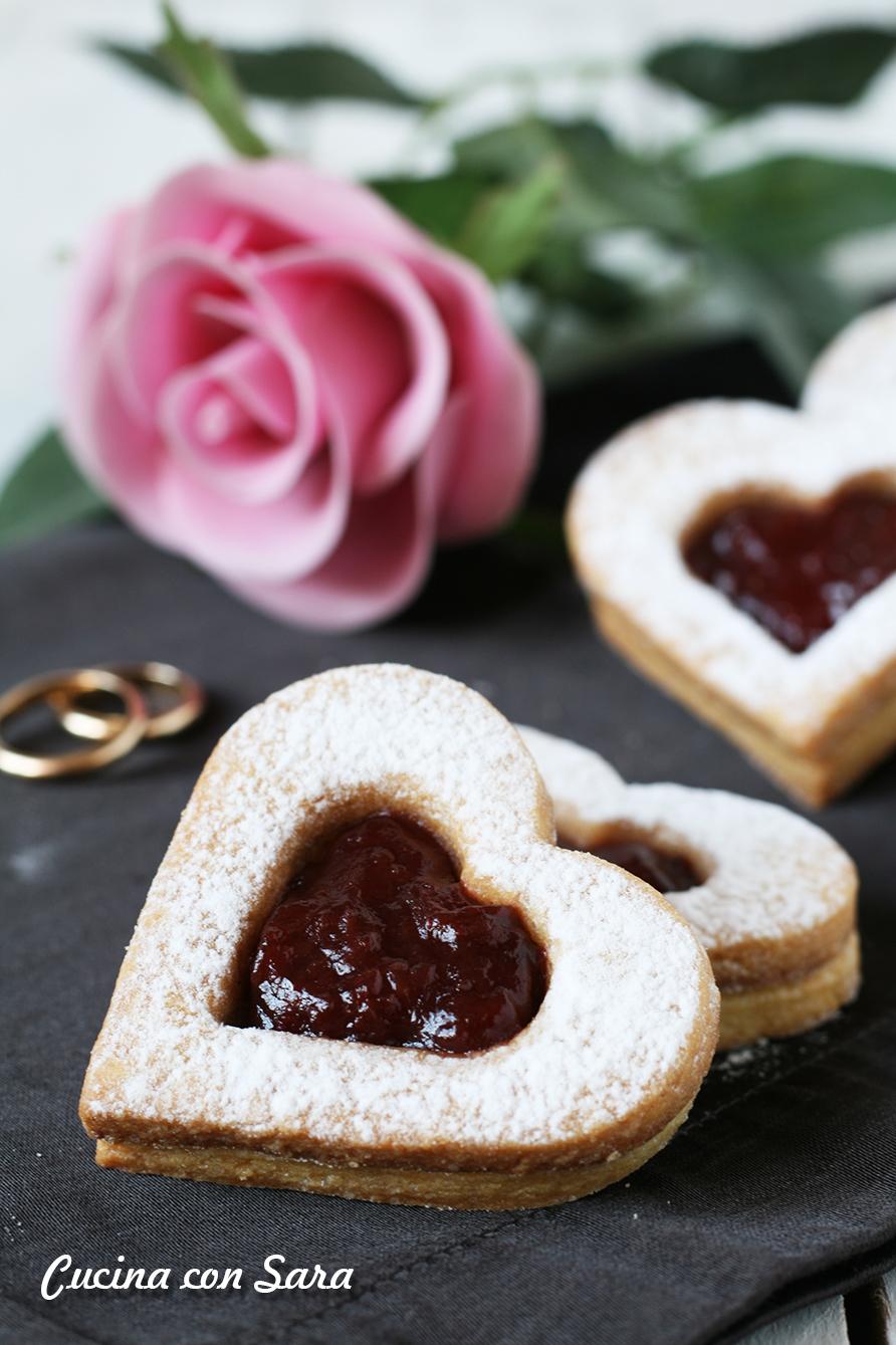 Biscotti San Valentino, cucina con sara