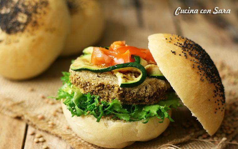 Burger di lenticchie riccetta archives cucina con sara - Cucina con sara ...