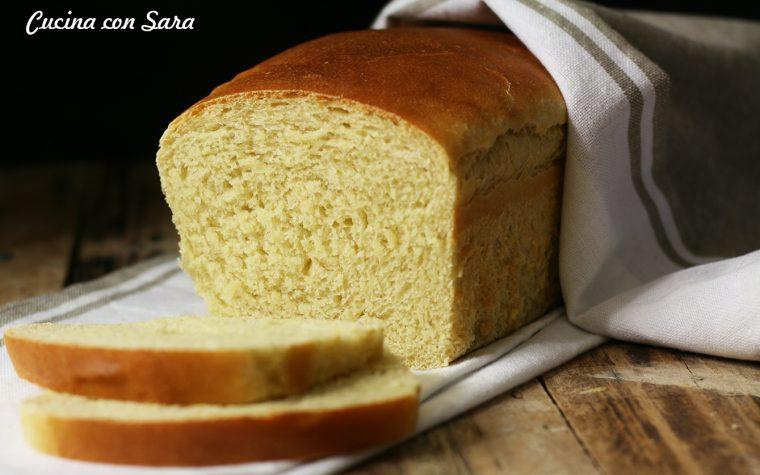 Ricetta pane in cassetta con farina di kamut