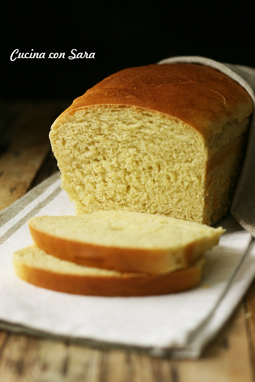 Ricetta pane in cassetta, cucina con sara