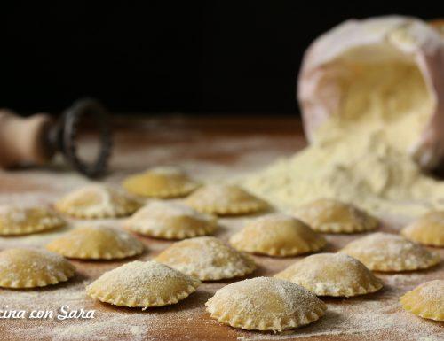 Ravioli patate e scamorza affumicata – pasta fresca fatta in casa
