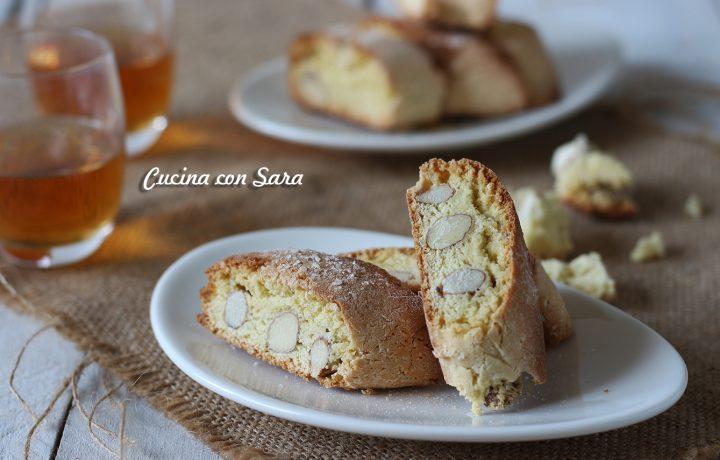 Ricetta cantucci – biscotti toscani alle mandorle