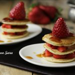 pancakes light, cucina con sara