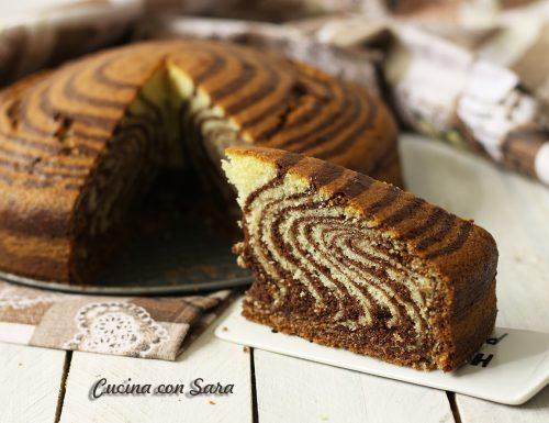Ricetta torta zebrata senza burro