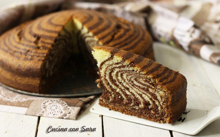 Ricetta torta zebrata senza burro – buonissima e scenografica