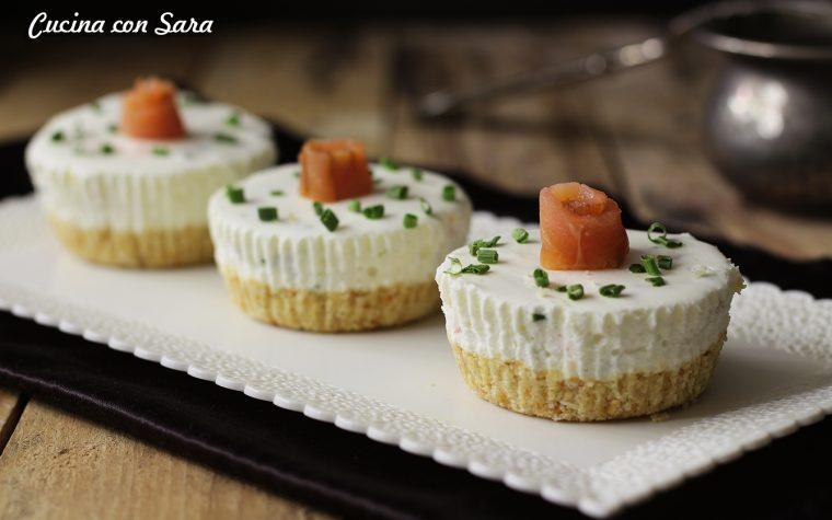 Cheesecake salata senza cottura