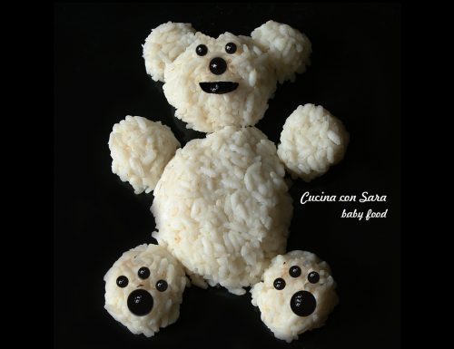 Risotto orsetto – ricetta per bambini