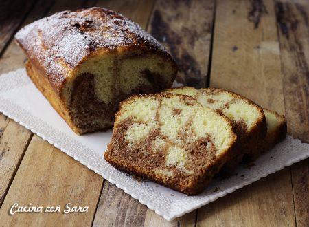 Plumcake variegato alla nocciolata - con video ricetta