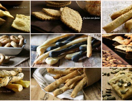 Crackers, grissini e taralli – raccolta di ricette infallibili