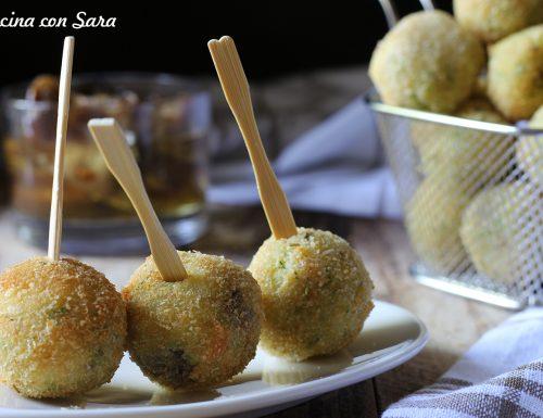 Polpette di cous cous, melanzane ed erbe aromatiche