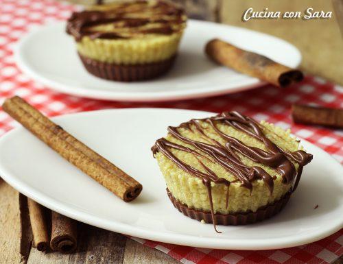 Semifreddo cioccolato fondente, cous cous e cannella