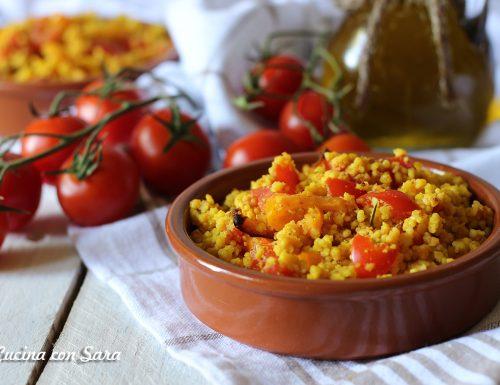 Cous cous di ceci con verdure – ricetta fredda estiva
