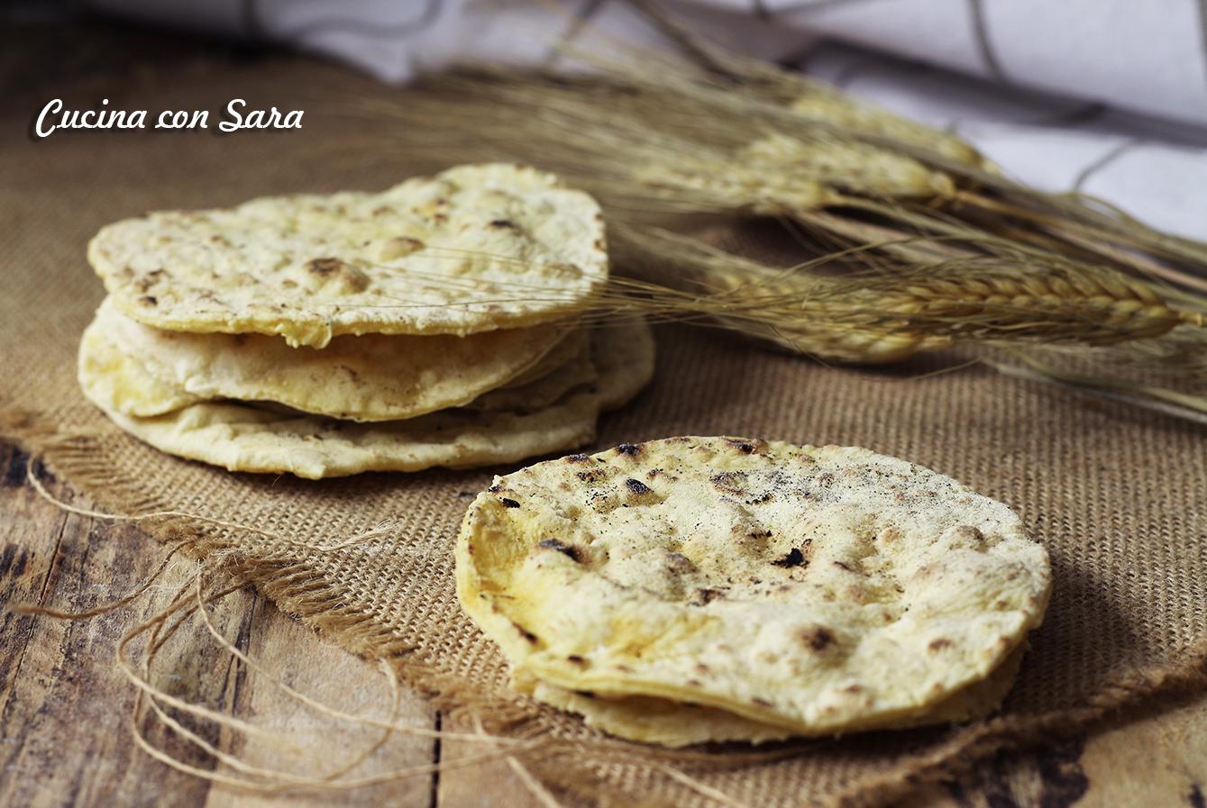 Sfoglie di pane, cucina con sara