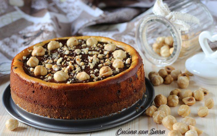 Cheesecake cioccolato e nocciole
