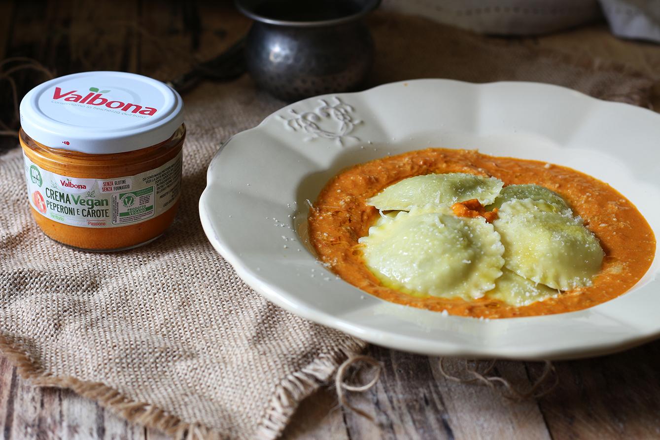 Ravioli ricotta, cucina con sara