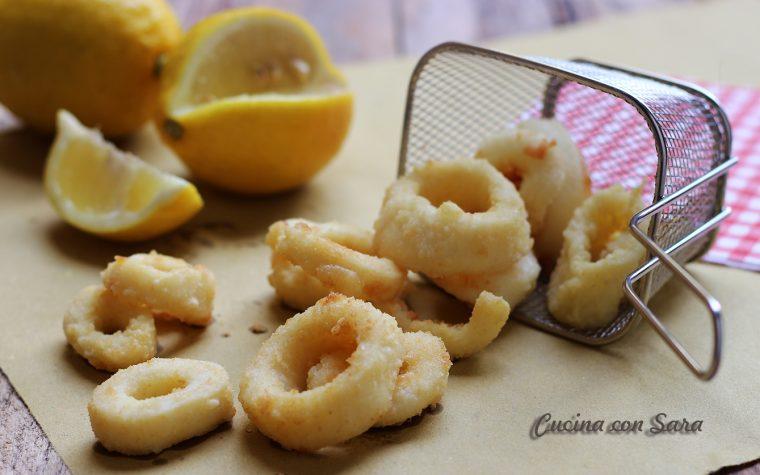 Calamari fritti – panatura che non si stacca