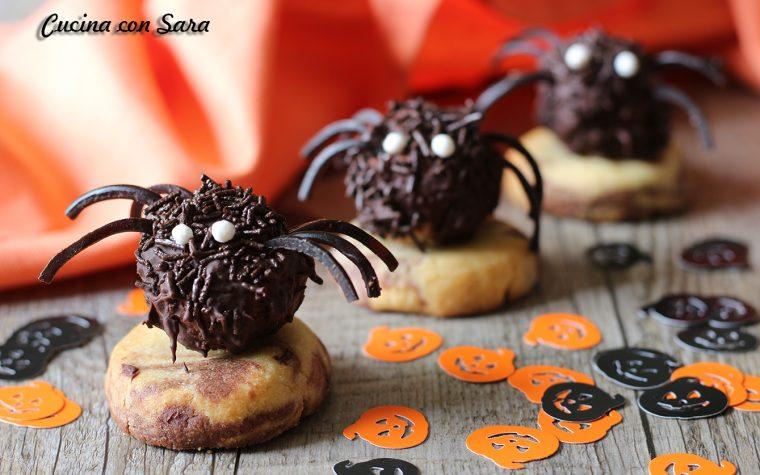 Ragnetti di Halloween – semplicissimi