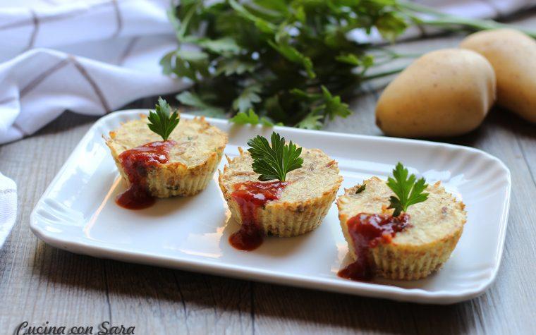 Tortini patate e salsa piccante – SEMPLICISSIMI