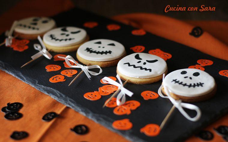 Stecco biscotti di Halloween