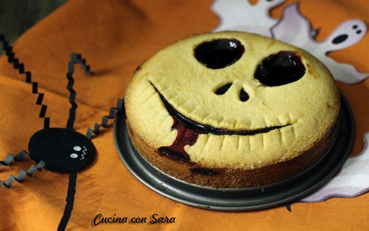 Crostata di Halloween – mostruosamente facile