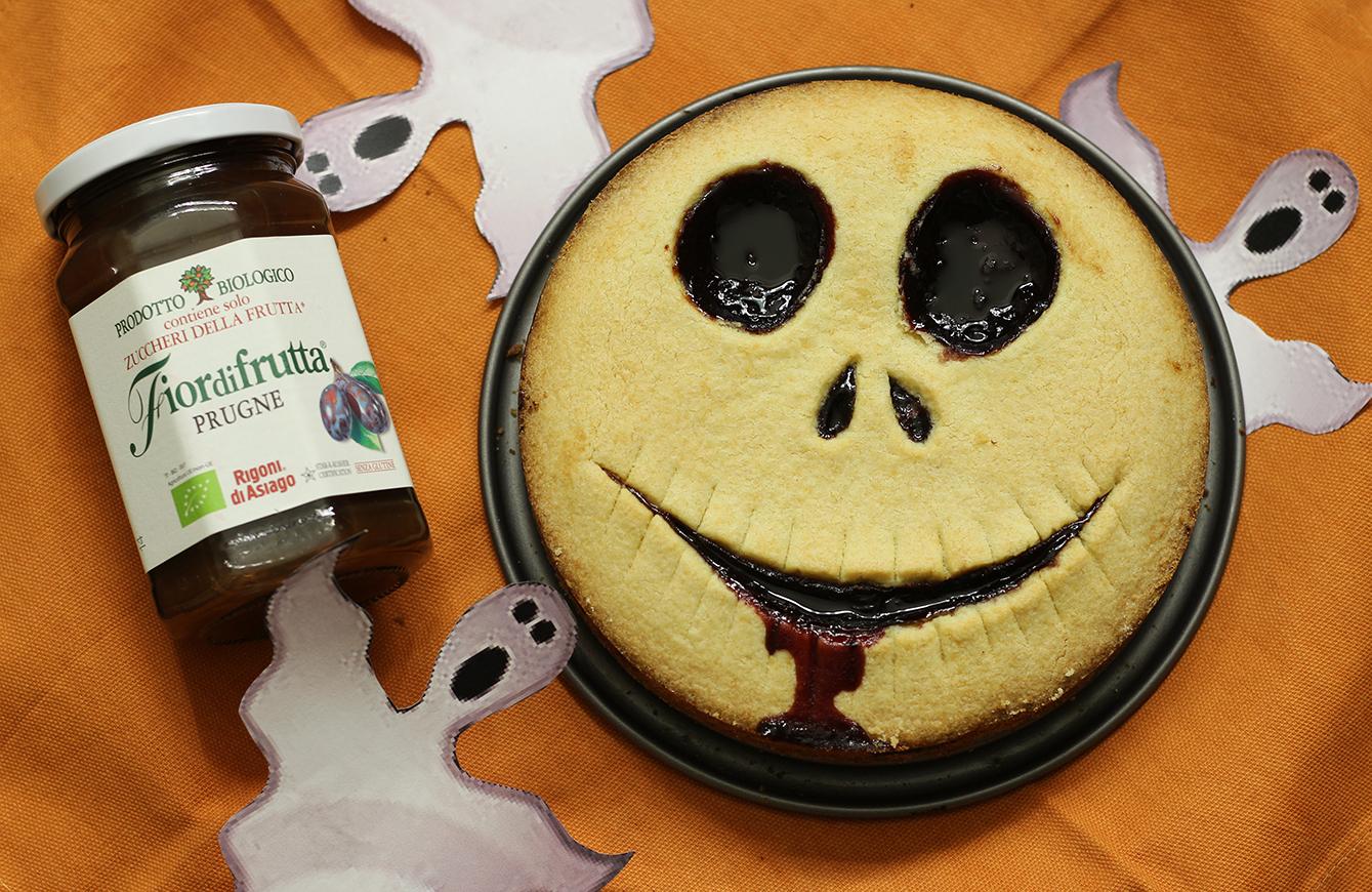 Crostata di Halloween - mostruosamente facile e golosa
