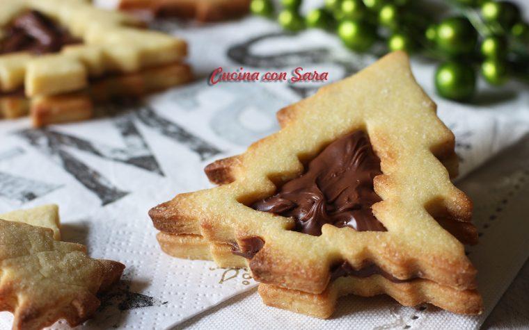 Biscotti natalizi alla nutella