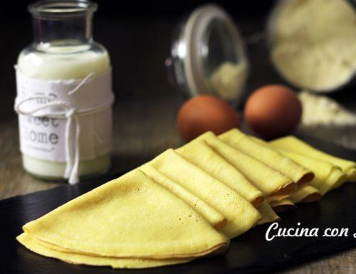Ricetta crespelle – ricetta base