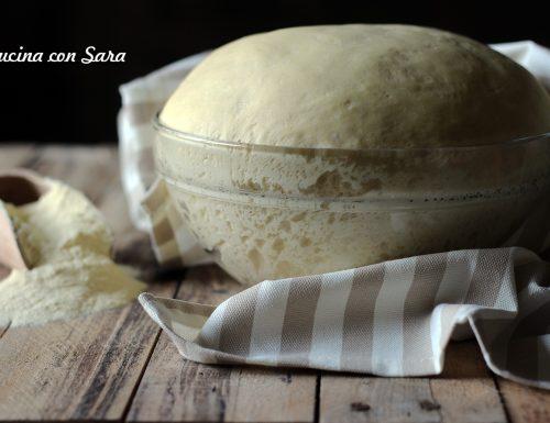 Impasto schiacciata siciliana – con video ricetta
