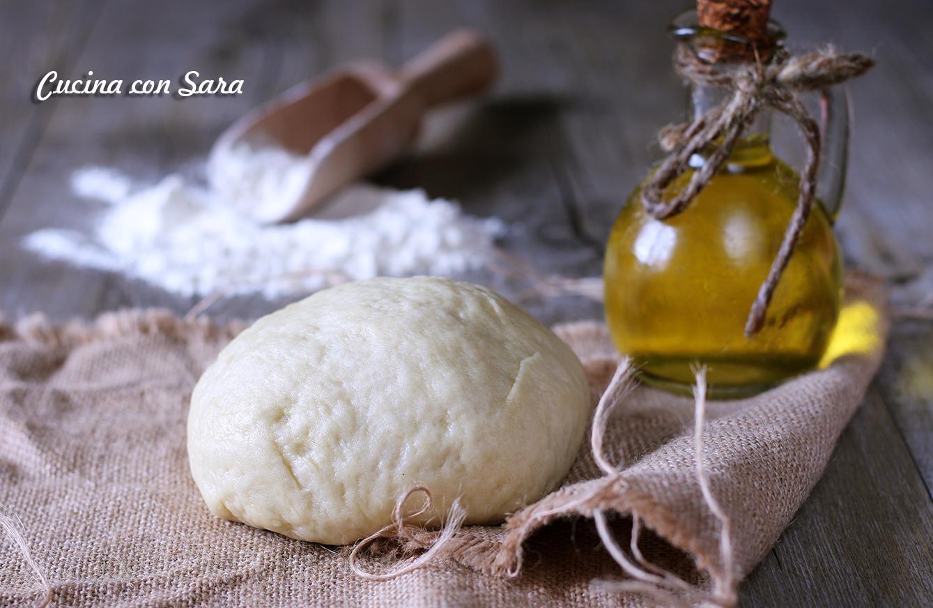 Frolla salata senza burro, cucina con sara