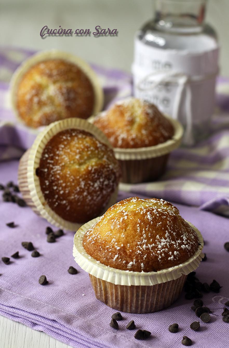 Muffin senza burro, cucina con sara