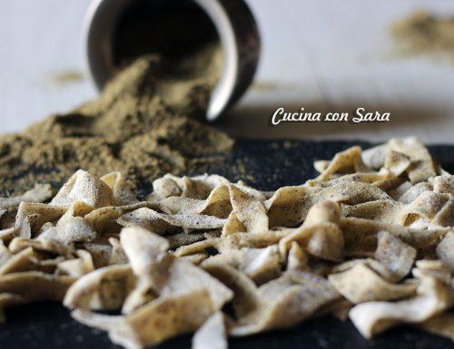 Tagliatelle alla canapa – pasta fresca senza uova