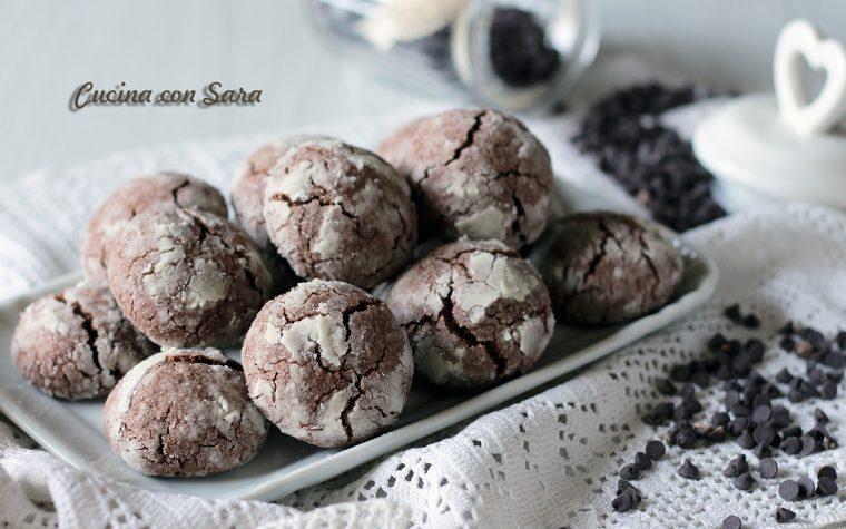 Biscotti morbidi mandorle e cacao – velocissimi